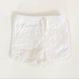 3/$25 ❤️ Cat & Jack Baby Girl Eyelet Shorts